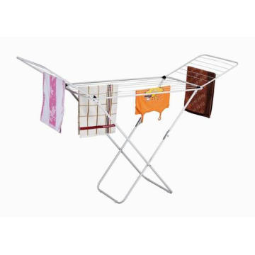 Metal clothes drying rack